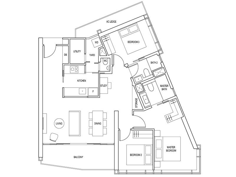 Floorplan Artra Condo Floor Plan Layout Project Brochure